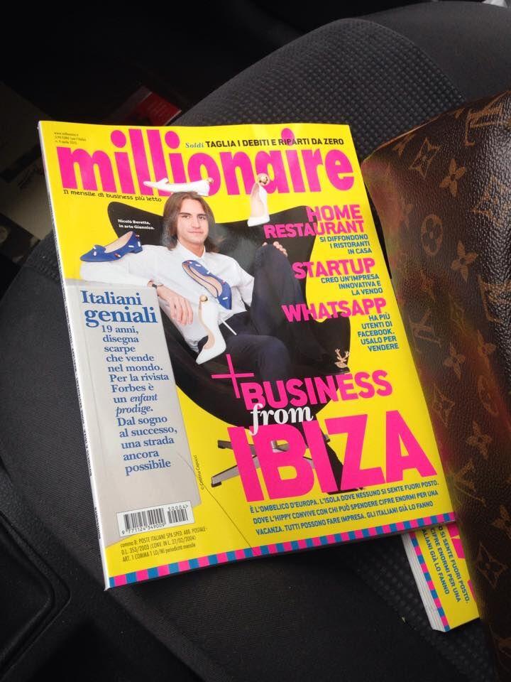 Millionaire parla di me: tra i giovani di successo anche io