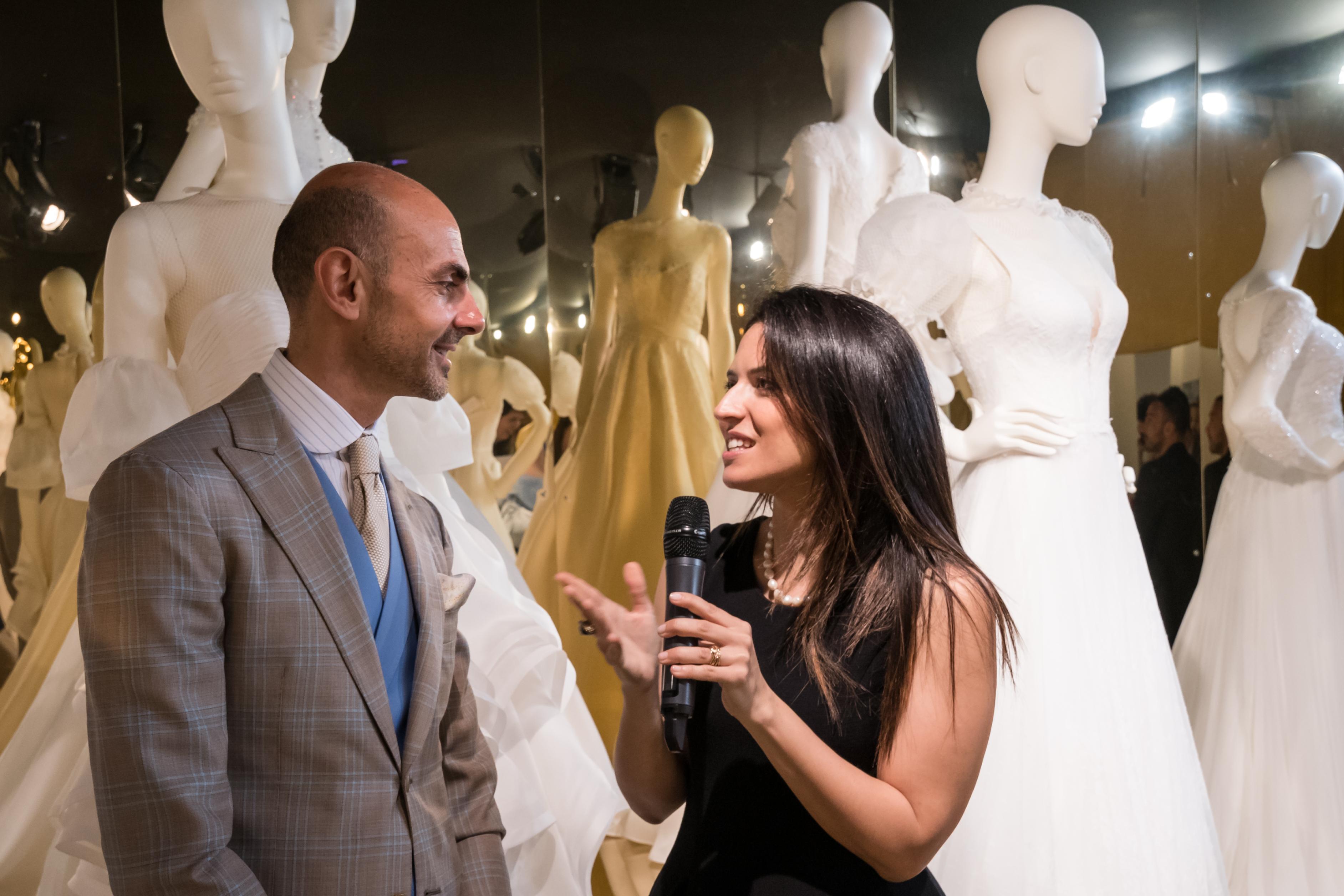 Enzo Miccio sbarca a Sì Sposaitalia con la nuova Bridal Collection 2018