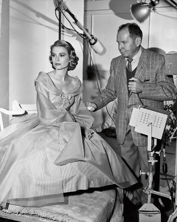 415_Grace Kelly and Clarence Sinclair Bull, 1956-®JKF[6710]