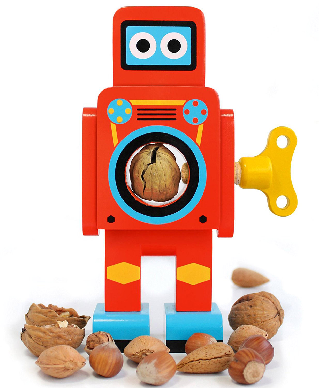 Schiaccianoci a forma di robot di Suck UK