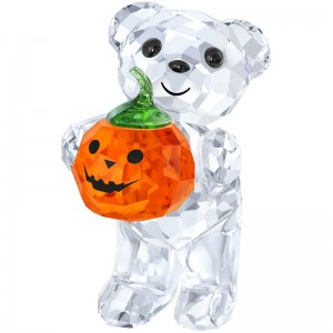 Kris Bear A Pumpkin for you by Swarovski