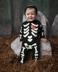 Primark Halloween nbb skeleton sleepsuit, Ôé¼8 $9
