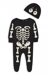 kimball-1242403-nbb skeleton sleepsuit, grade all, wk 50, Ôé¼8 $9
