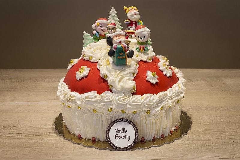 Panettone Natale Vanilla h