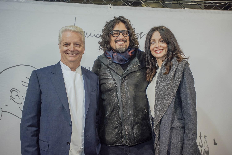 Inaugurazione Iginio Massari Milano_Iginio Massari Alessandro Borghese Debora Massari - Ph Sara 142 Busiol