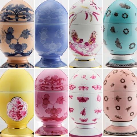 La tavola di Pasqua secondo Giorgia Fantin Borghi tra fiori e uova di porcellana
