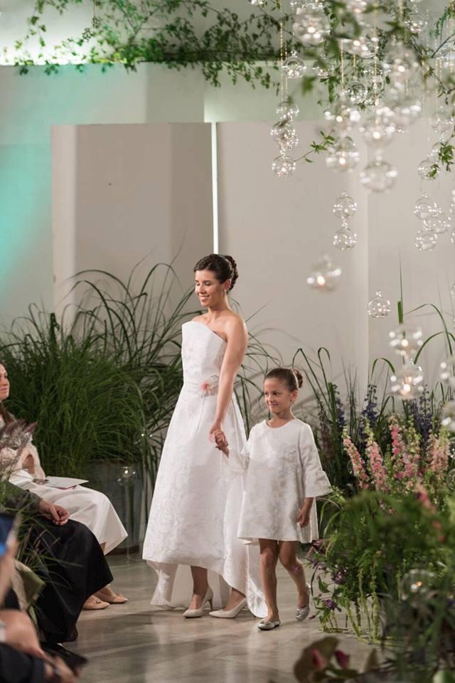 Total white per l'abito Atelier Kore