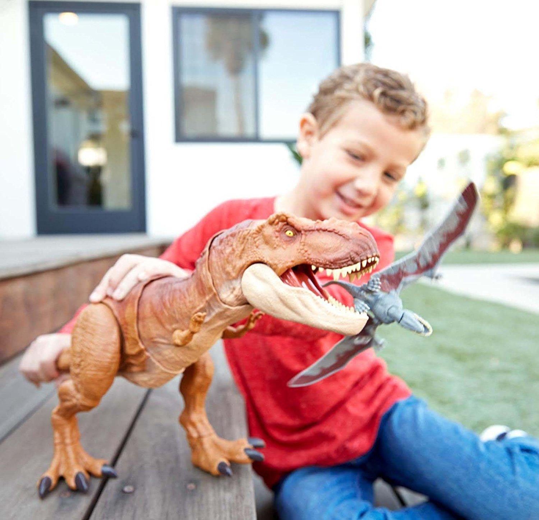 T-Rex con suoni Mattel