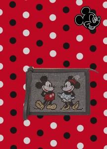 Pochette con strass Mickey Mouse e Minnie OVS