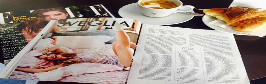 In edicola il nuovo numero di Elle con il mio pezzo sul bello di svegliarsi presto