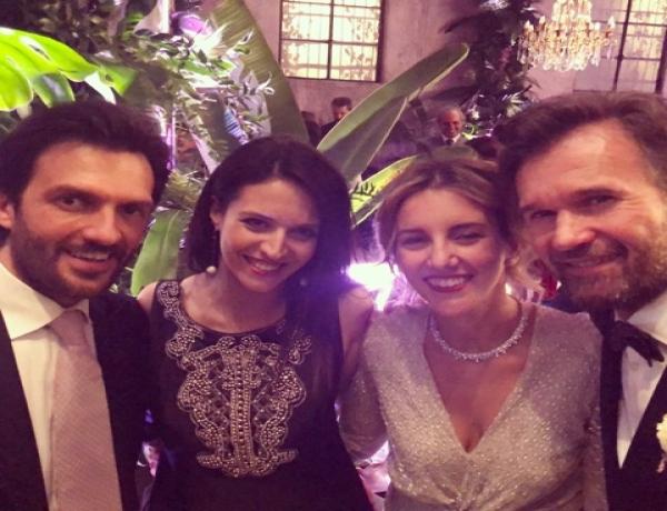 Carlo Cracco e Rosa Fanti sposi easy chic e Milano li festeggia con affetto