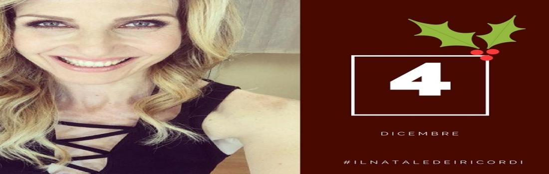 4 dicembre: #ilnataledeiricordi di Lorella Cuccarini