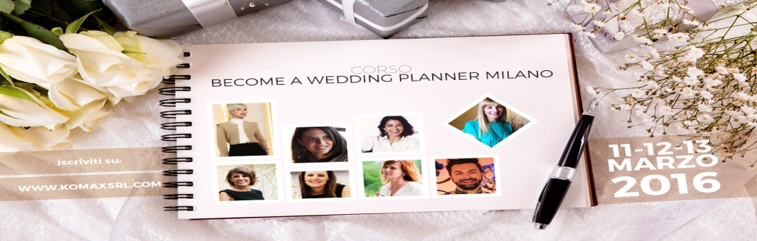 Corso Become a Wedding Planner