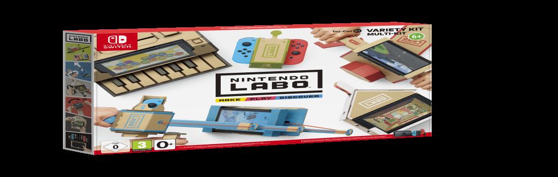 Nintendo Labo: il gioco che piace ai bambini ma ancora di più ai genitori