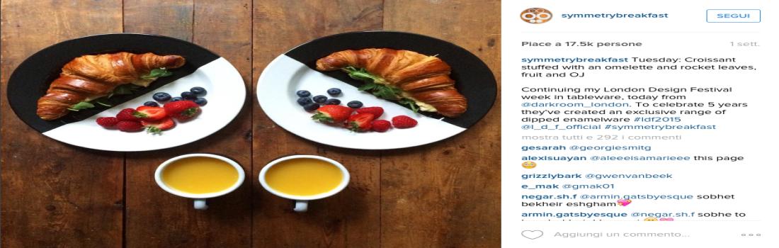La colazione diventa arte e amore negli scatti di Symmetry Breakfast