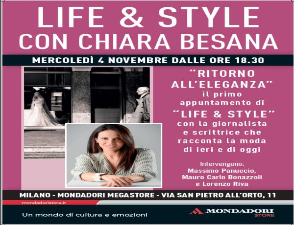 Parte Life & Style, il nuovo appuntamento in Mondadori Store
