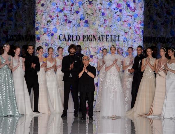 Carlo Pignatelli presenta la sua collezione 2018 e conquista Milano