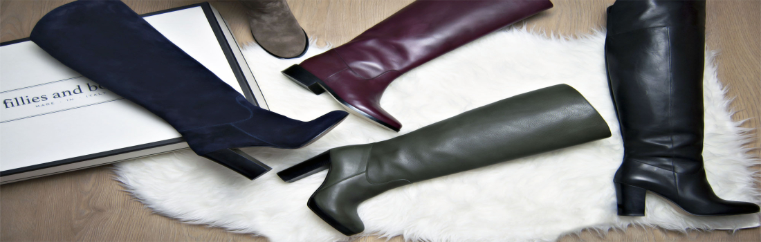 Lo stivale perfetto esiste: Fillies and Boots are made for walking!